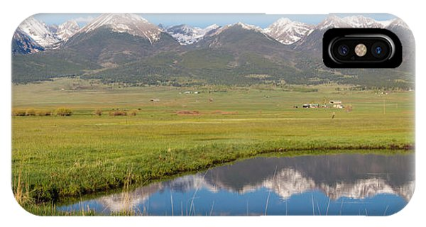 Sangre De Cristo iPhone Case - Sangre De Cristo Morning by Aaron Spong