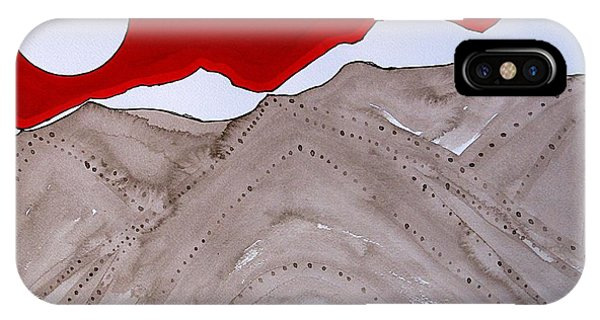 Sangre De Cristo Peaks Original Painting IPhone Case