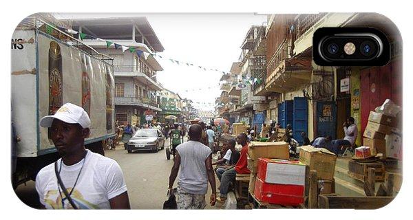 Sani Abacha Street- Year 2011 IPhone Case