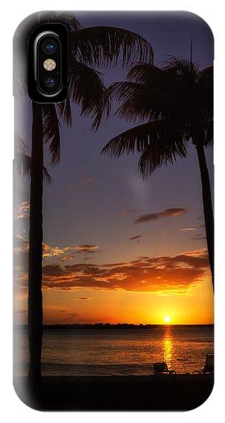 Sanibel Island Sunset IPhone Case