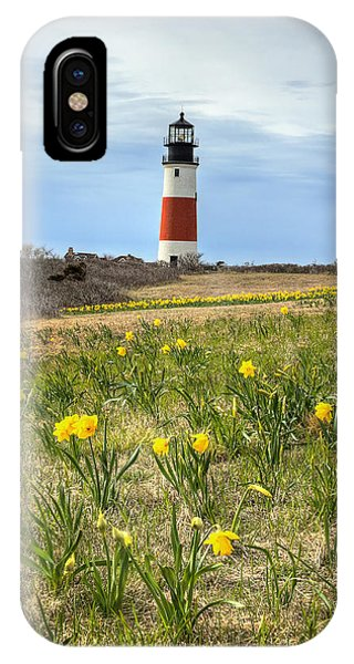 Sankaty Lighthouse Nantucket IPhone Case
