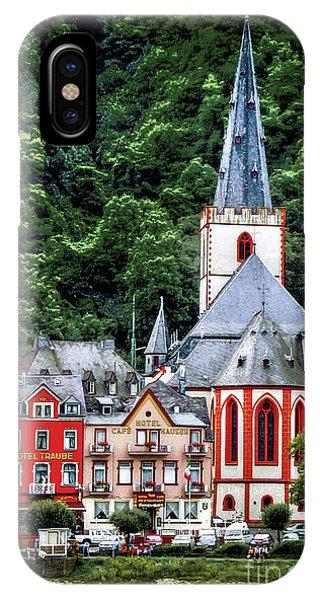 Sankt Goar On The Rhine IPhone Case