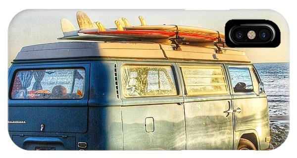 Vw Bus iPhone Case - Sano Vw Bus by Hal Bowles