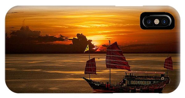 Sanpan Sunset IPhone Case