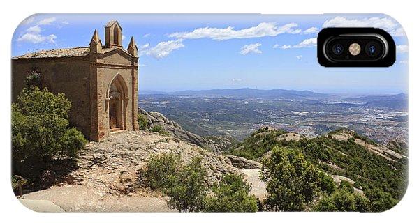 Sant Joan Chapel Spain IPhone Case