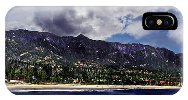 Santa Barbara Panorama IPhone Case
