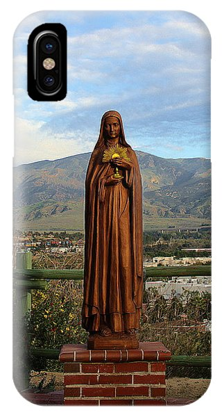 Santa Clara De Asis IPhone Case