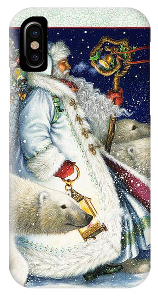Santa Claus Is A Holiday Tradition IPhone Case