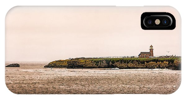 Santa Cruz Lighthouse IPhone Case