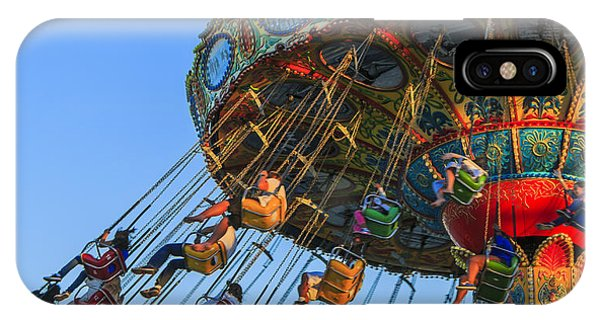 Santa Cruz Seaswing At Sunset 5 IPhone Case