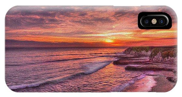 Santa Cruz Sunset IPhone Case