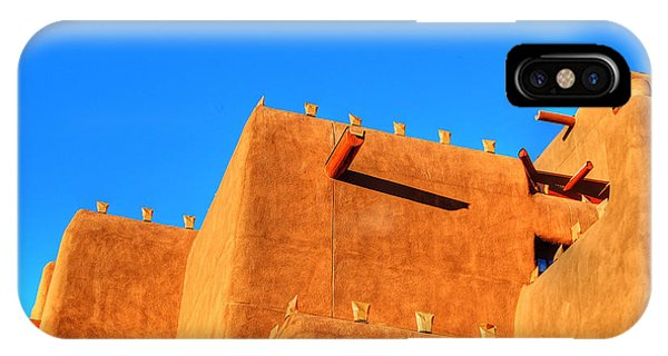 Santa Fe Adobe IPhone Case