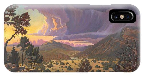Santa Fe Baldy IPhone Case