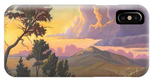 Santa Fe Baldy - Detail IPhone Case