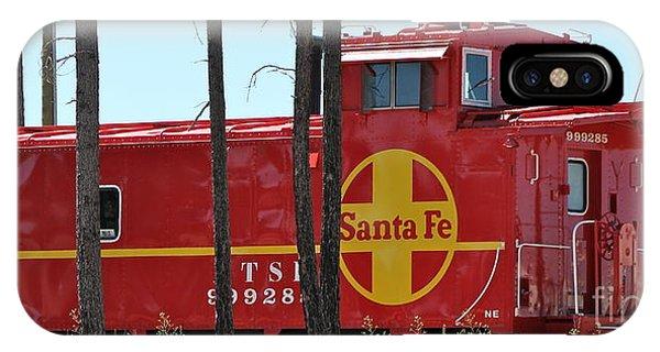 Santa Fe Caboose IPhone Case