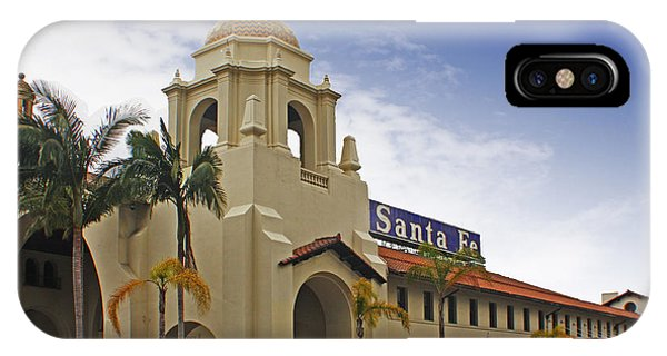 Santa Fe Depot IPhone Case