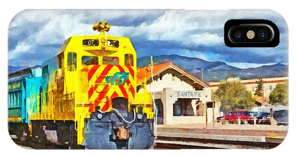Santa Fe Southern Railway Train IPhone Case