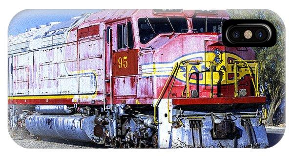 Santa Fe Train No-95 IPhone Case