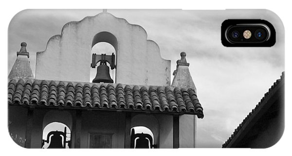 Santa Ines Mission Bell Tower IPhone Case