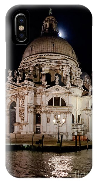 Santa Maria Della Salute At Night IPhone Case