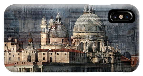 Palace iPhone X Case - Santa Maria Della Salute by Hans-wolfgang Hawerkamp