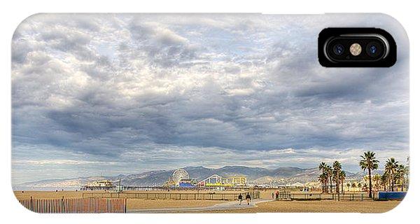 Santa Monica Beach IPhone Case