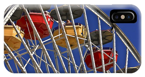 Santa Monica Pier Ferris Wheel IPhone Case