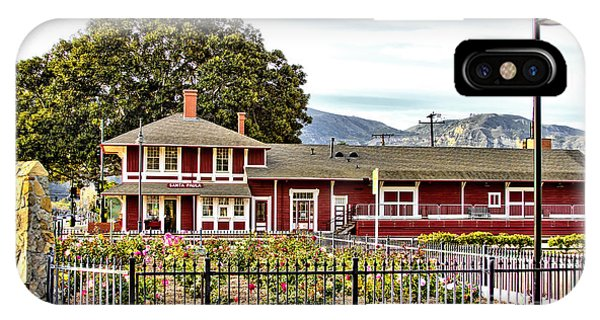 Santa Paula Train Station IPhone Case
