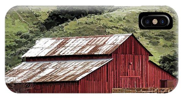 Santa Rosa Rd Barn IPhone Case