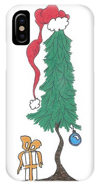 Santa Tree IPhone Case