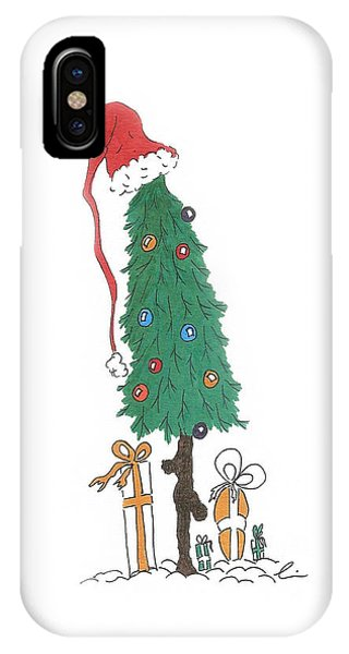 Santa Tree With Presents IPhone Case