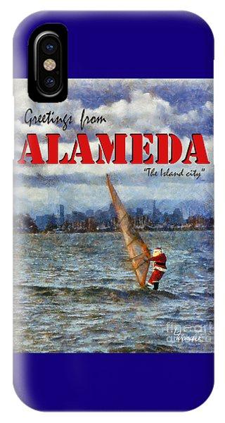 Alameda Santa's Greetings IPhone Case
