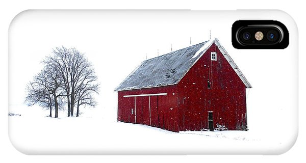 Santa's Barn IPhone Case