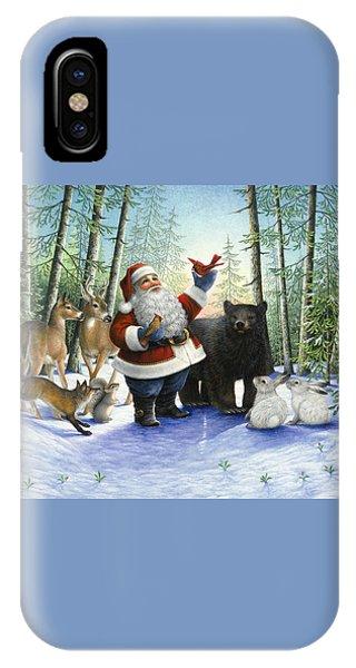 Santa's Christmas Morning IPhone Case