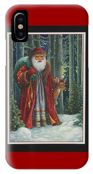 Santa's Journey IPhone Case