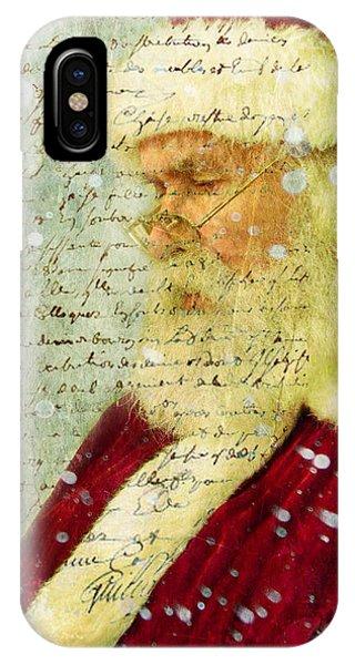 Santas Letter  IPhone Case