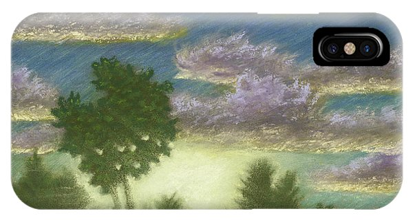 Santee Sunset 01 IPhone Case