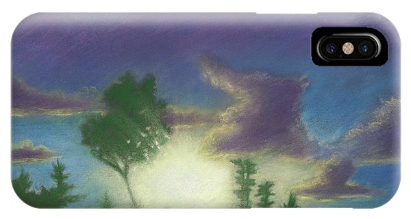Santee Sunset 02 IPhone Case