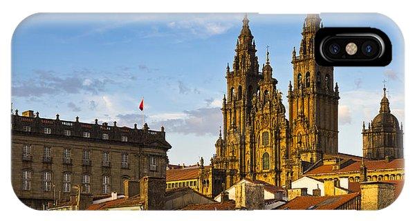 Santiago De Compostela Cathedral Galicia Spain IPhone Case