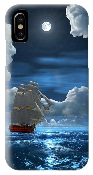 Santisima Trinida In The Moonlight 2 IPhone Case