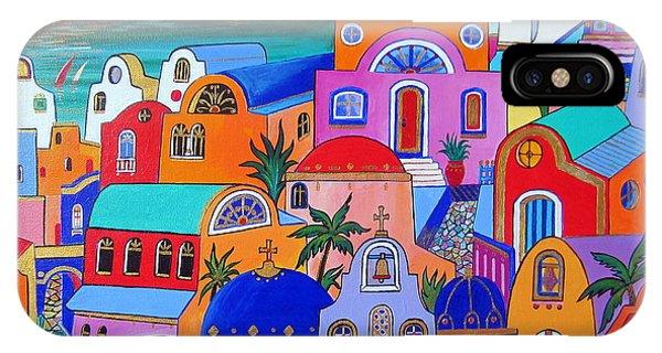 Santorini Colors IPhone Case