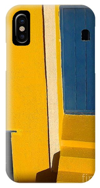 Santorini Doorway IPhone Case