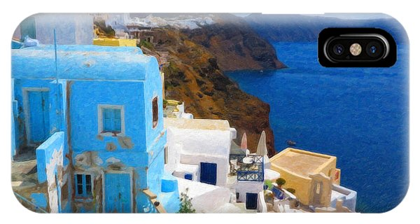 Santorini Grk2806 IPhone Case