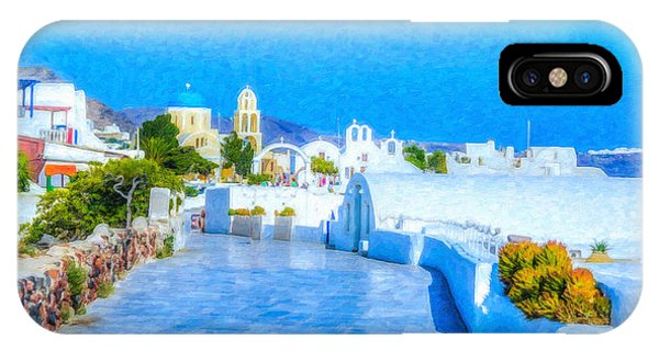 Santorini Grk4120 IPhone Case