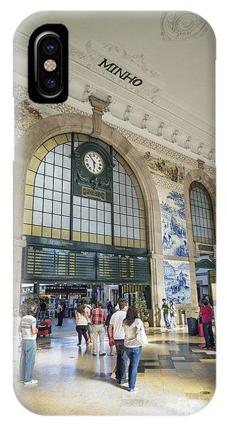 Sao Bento Railway Station Porto Portugal IPhone Case