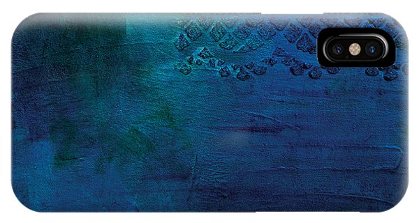 iPhone Case - Sapphire Lake by Julie Acquaviva Hayes