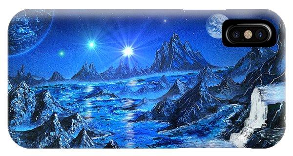 Sapphire Planet IPhone Case