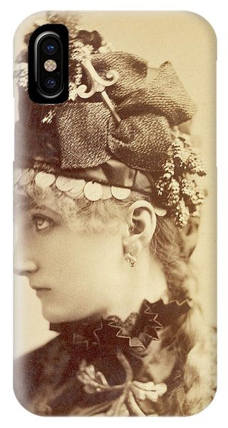 Sarah Bernhardt (1845 - 1923), French Phone Case by Mary Evans Picture Library