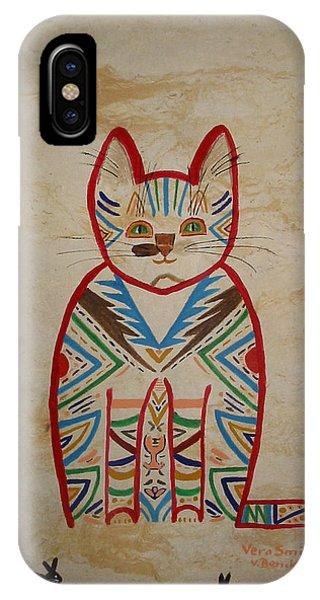 Sarah's Cat IPhone Case