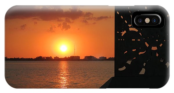 Sarasota Bay Sunset IPhone Case